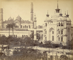 A view of the Hossainabad Garden, [Lucknow].